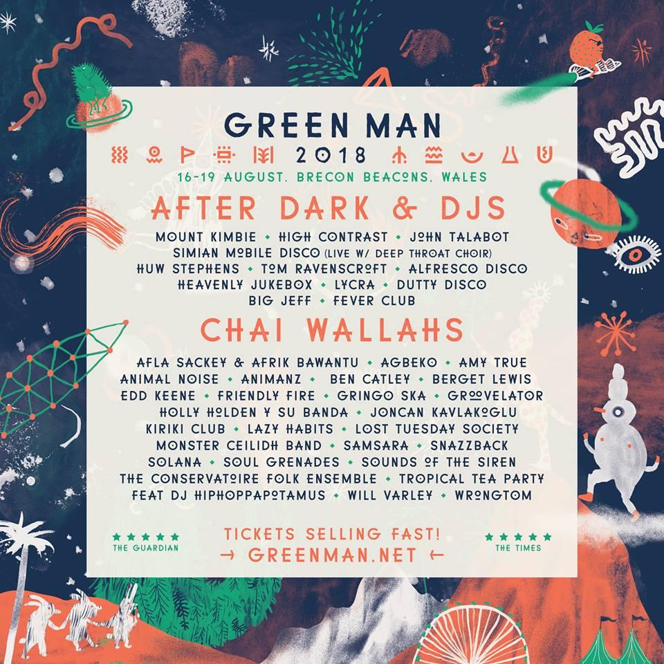 Green Man 18